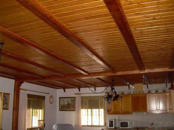 Revestimientos con madera - Revestimiento de techos ...